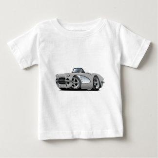 Silbernes Kabriolett 1961 Korvette Baby T-shirt