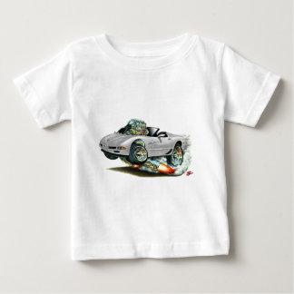 Silbernes Kabriolett 1998-2004 Korvette Baby T-shirt