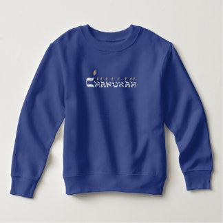 Silbernes Menorah Chanukka T-Shirt
