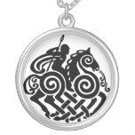 Silbernes Odin 3 Halsketten