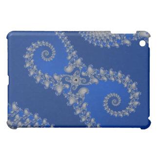 Silbernes Seepferd iPad Mini Hülle