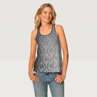 Silbriges Ombre Tanktop
