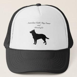 Silhouette-australischer Vieh-Hund Truckerkappe