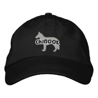 Silhouette-Chinook gestickter Hut