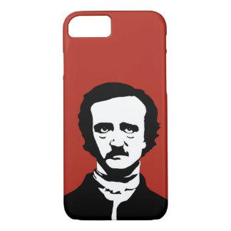 Silhouette Edgar Allan Poe iPhone 8/7 Hülle