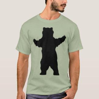 Silhouette Grizzlybär T-Shirt