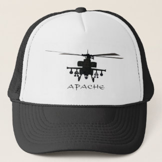 Silhouette Hughess AH-64 Apache Truckerkappe