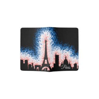 Silhouette Paris Frankreich Passhülle
