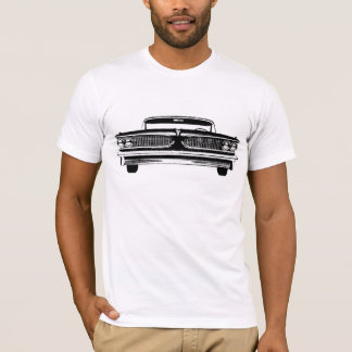 Silhouette von Pontiac 1959 Bonneville T-Shirt