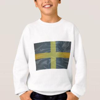Silk Flagge des Heiligen David von Wales Sweatshirt