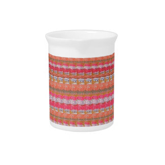 Silk Gewebe-Druck-Muster Mysores von Indien Krug