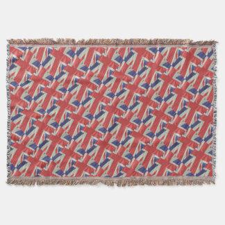 Silk Gewerkschafts-Jack-Flaggen-Nahaufnahme Decke