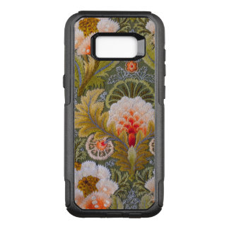 Silk grüne Stickerei-Kunst OtterBox Commuter Samsung Galaxy S8+ Hülle