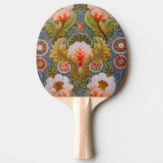 Silk grüne Stickerei-Kunst Tischtennis Schläger