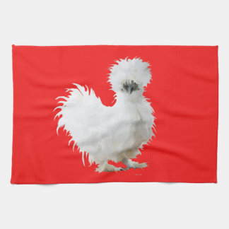 Silkie Huhn Geschirrtuch