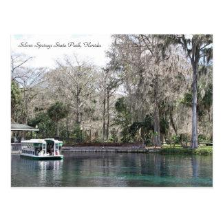 Silver Springs, Florida, Glasunterseiten-Boot Postkarte