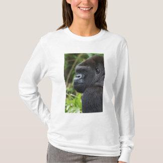 Silverback-Tiefland-Gorilla, Gorilla-Gefangener T-Shirt