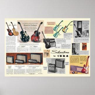 Silvertone für Plakat 1964