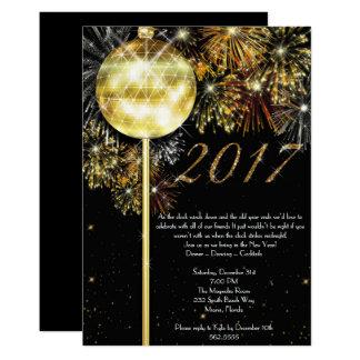 Silvesterabend-Einladung, Silvesterabend Karte