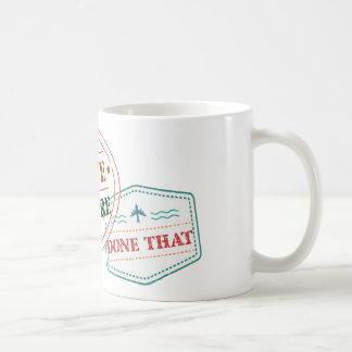 Simbabwe dort getan dem kaffeetasse