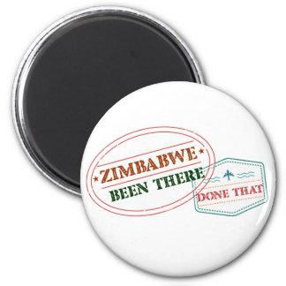 Simbabwe dort getan dem runder magnet 5,7 cm