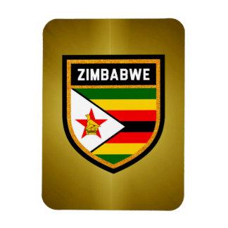 Simbabwe-Flagge Magnet