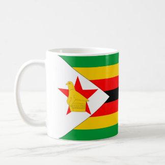 Simbabwe-Landesflaggenationssymbol Kaffeetasse