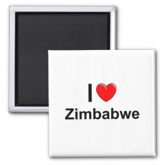 Simbabwe Quadratischer Magnet