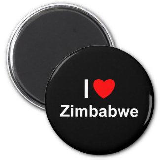 Simbabwe Runder Magnet 5,1 Cm