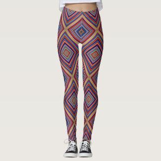 Simetric, colourfull, Gamaschen Leggings