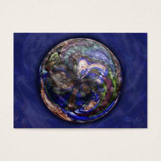 Simmer-Mandala-Künstler-Trading Card - ACEO Visitenkarte