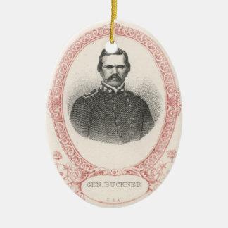 Simon Bolivar Buckner Keramik Ornament