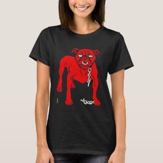 Simplicissimus Stier HundeVintager Cartoon T-Shirt