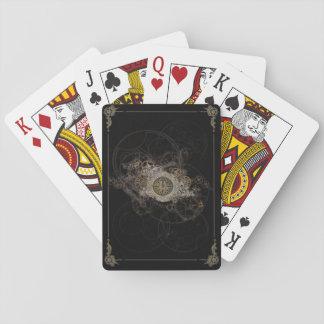 SimplyCards® exklusive Steampunk Plattform Spielkarten
