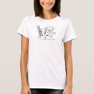 Simplydone Libelle Lilly Auflage T T-Shirt