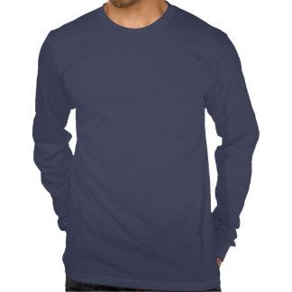 Simpsonville Glanz-Logo-T-Shirt - lange Hülse