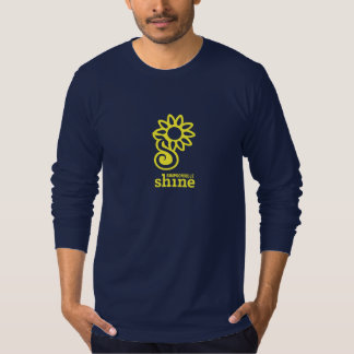 Simpsonville Glanz-Logo-T-Shirt - lange Hülse Tshirt