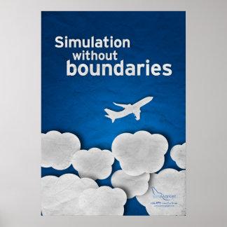 Simulation ohne Grenzen Plakatdrucke