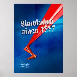 Simulation seit 1997 poster