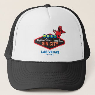 Sin City-Fernlastfahrerhut Truckerkappe