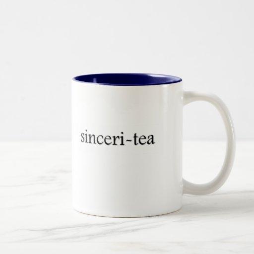 Sinceri-Tee Tee-Schale Tassen