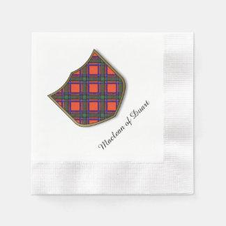 Sinclair Clan karierter schottischer Tartan Serviette