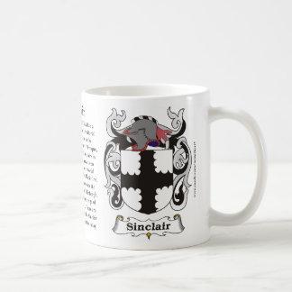 Sinclair, Ursprung, Bedeutung und das Wappen Kaffeetasse