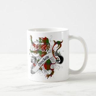 Sinclairtartan-Löwe Kaffeetasse