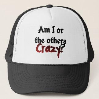 Sind ich oder die anderen verrückter Hut Truckerkappe