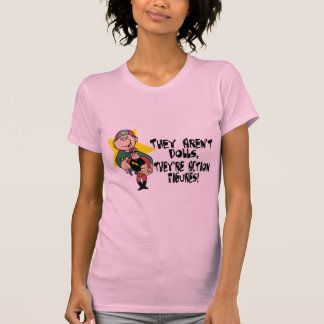 Sind nicht Puppen aber Action-Figuren T-Shirt