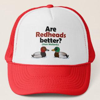 Sind Redheads besser? Truckerkappe