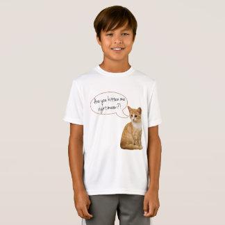 """""""Sind Sie Kätzchen ich rechter Meow?"""" Jungen-oder T-Shirt"""