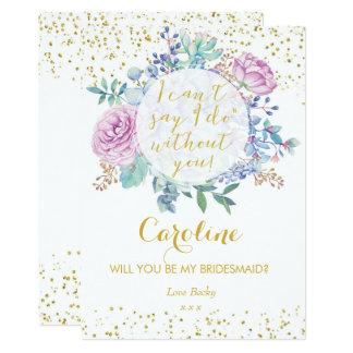 Sind Sie mein Blumen 12,7 X 17,8 Cm Einladungskarte