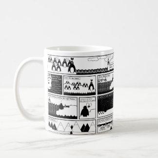 Sind Sie mein Pinguin? Kaffeetasse